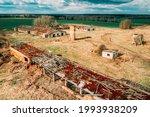 Belarus. Abandoned Barn  Shed ...