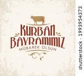 kurban bayram n z kutlu olsun....   Shutterstock .eps vector #1993954373