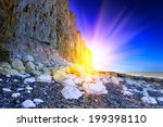 Sea Cliff On The Coastline Of...