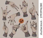up  good luck sign  ok  class ...   Shutterstock .eps vector #1993996280