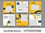 set of editable social media... | Shutterstock .eps vector #1994009480