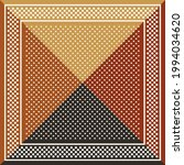 scarf design in brown  orange ... | Shutterstock .eps vector #1994034620