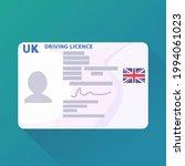 uk driver's license post brexit ... | Shutterstock .eps vector #1994061023