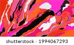 art psychedelic bright grunge...