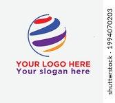 world globe logo for your...   Shutterstock .eps vector #1994070203