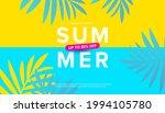 summer sale vector illustration ... | Shutterstock .eps vector #1994105780