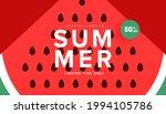 season summer sale banner  hot... | Shutterstock .eps vector #1994105786
