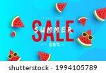 trendy summer discount sale... | Shutterstock .eps vector #1994105789