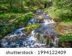 Martorpsfallet Waterfall ...