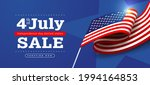 independence day usa sale... | Shutterstock .eps vector #1994164853