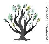 abstract beautiful tree. vector ... | Shutterstock .eps vector #1994168210