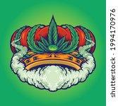 cannabis crown smoke premium... | Shutterstock .eps vector #1994170976