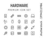 premium pack of hardware line...   Shutterstock .eps vector #1994211986