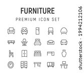 premium pack of furniture line...