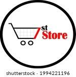 sales concept logo for shops ... | Shutterstock .eps vector #1994221196