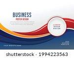 stylish business presentation...   Shutterstock .eps vector #1994223563