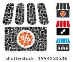 mosaic drugstore sale icon... | Shutterstock .eps vector #1994250536