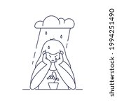 depression  sadness  mental... | Shutterstock .eps vector #1994251490