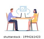 male and female characters... | Shutterstock .eps vector #1994261423