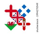 england  scotland  wales and... | Shutterstock .eps vector #1994270549