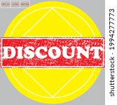 with discount stamp text on... | Shutterstock .eps vector #1994277773