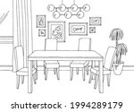 dining room home interior... | Shutterstock .eps vector #1994289179