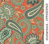 paisley vector seamless pattern.... | Shutterstock .eps vector #1994303963