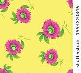 seamless vector flower design... | Shutterstock .eps vector #1994320346