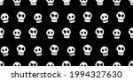 seamless pattern with skulls.... | Shutterstock .eps vector #1994327630