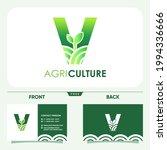 initial letter v agriculture... | Shutterstock .eps vector #1994336666