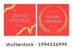 grand opening banner design... | Shutterstock .eps vector #1994336999