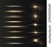light rays of light horizontal... | Shutterstock .eps vector #1994339369