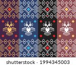 indonesia traditional fabric...   Shutterstock .eps vector #1994345003