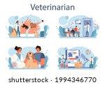 pet veterinarian concept set....   Shutterstock .eps vector #1994346770