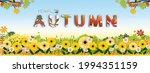 autumn background banner cute... | Shutterstock .eps vector #1994351159