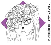vector illustration. katarina.... | Shutterstock .eps vector #1994351450