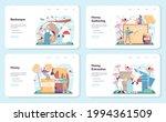 hiver or beekeeper web banner... | Shutterstock .eps vector #1994361509