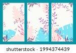 set of vertical backgrounds... | Shutterstock .eps vector #1994374439