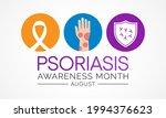 psoriasis awareness month is... | Shutterstock .eps vector #1994376623
