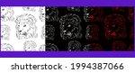 lion head vector illustration... | Shutterstock .eps vector #1994387066