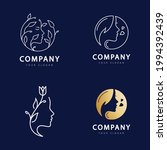 beauty woman logo for your... | Shutterstock .eps vector #1994392439