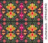 seamless ethnic pattern style... | Shutterstock .eps vector #1994416940