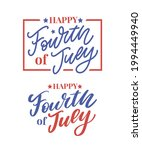 fourth 4 of july stylish... | Shutterstock .eps vector #1994449940