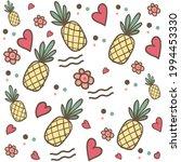 summertime flower  heart  and... | Shutterstock .eps vector #1994453330