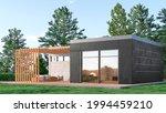 exterior of modern living... | Shutterstock . vector #1994459210