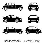 transport design over white... | Shutterstock .eps vector #199446449