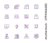 simple set of education and... | Shutterstock .eps vector #1994466680