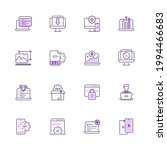 simple set of seo and... | Shutterstock .eps vector #1994466683