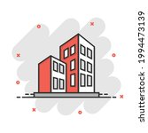 building icon in comic style....   Shutterstock .eps vector #1994473139