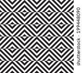black and white geometric... | Shutterstock .eps vector #199448090